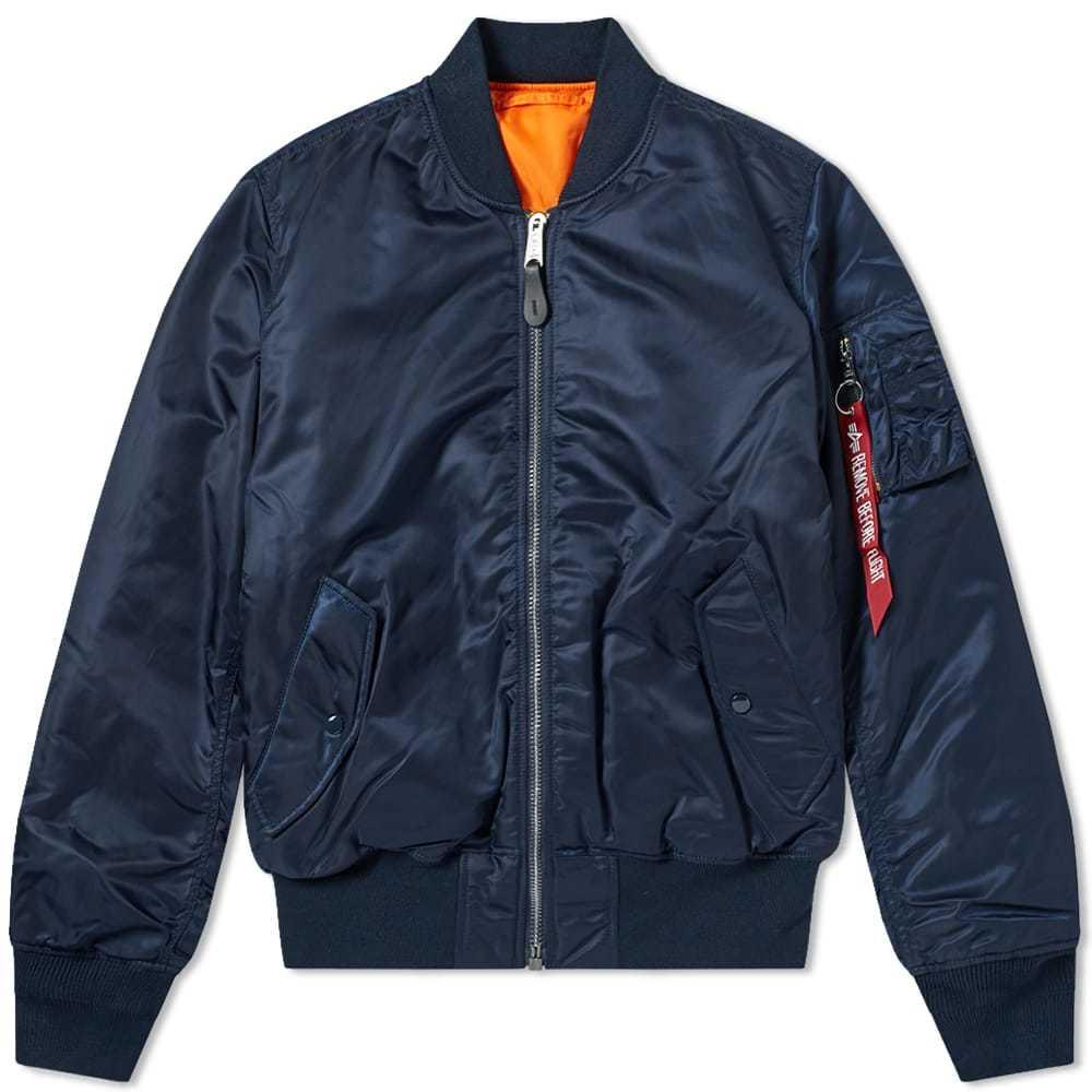 Photo: Alpha Industries Classic MA-1 Jacket Blue