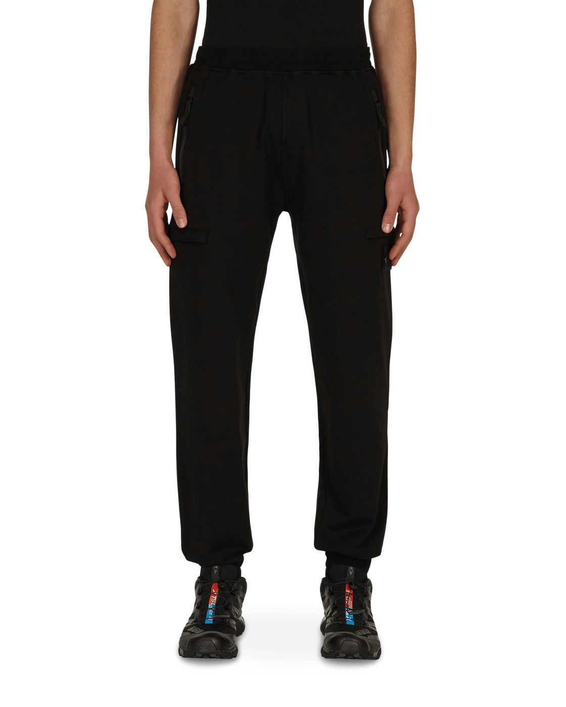 Stone Island Ghost Piece Sweatpants Black