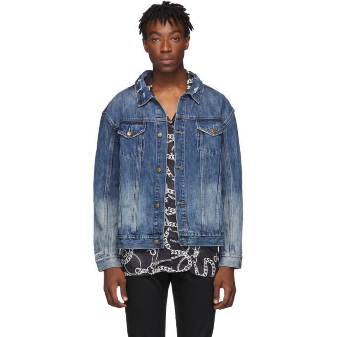 Ksubi Blue Denim No Rules Fancy Dollar Oh G Jacket