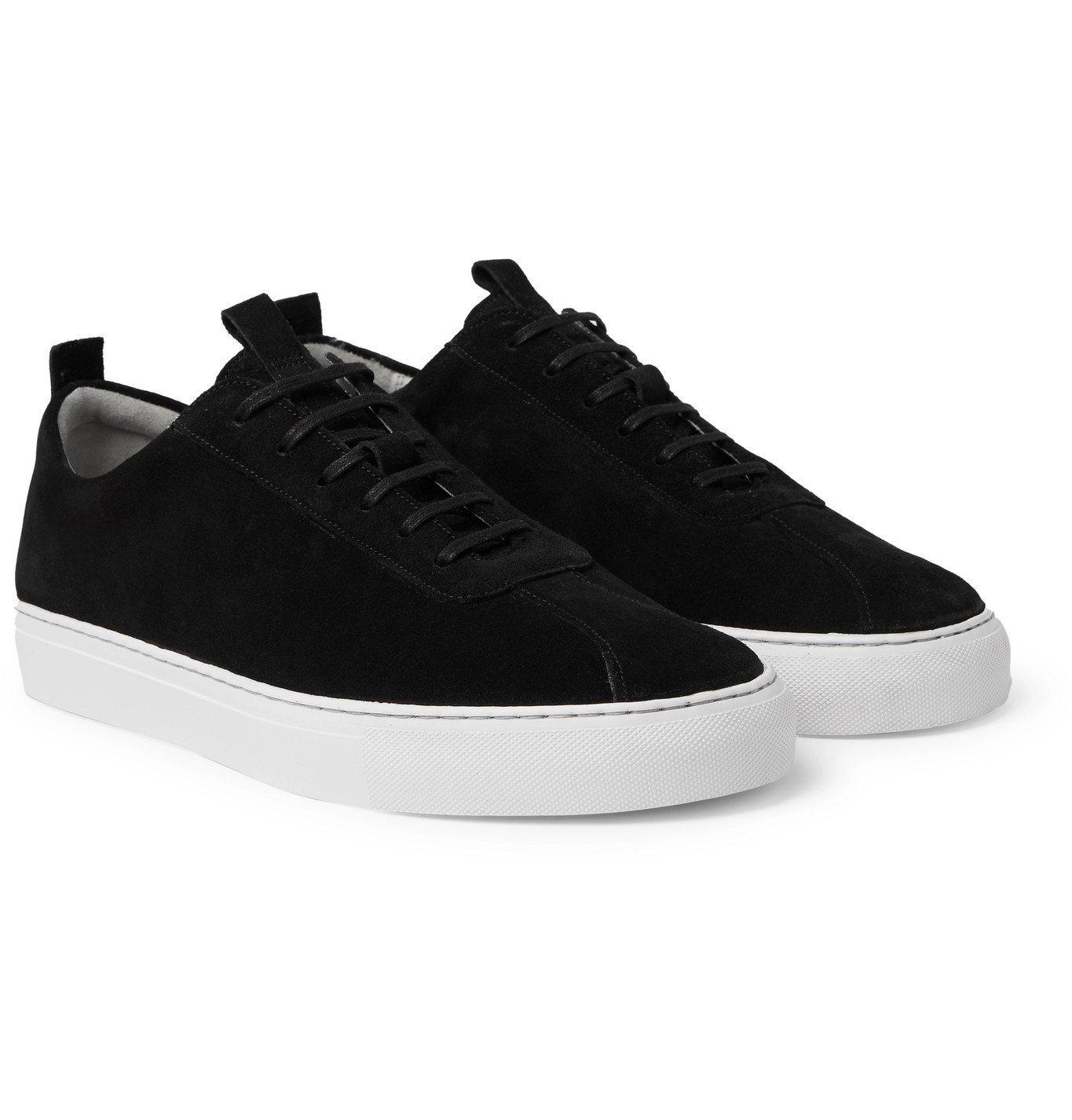 Photo: Grenson - Suede Sneakers - Black