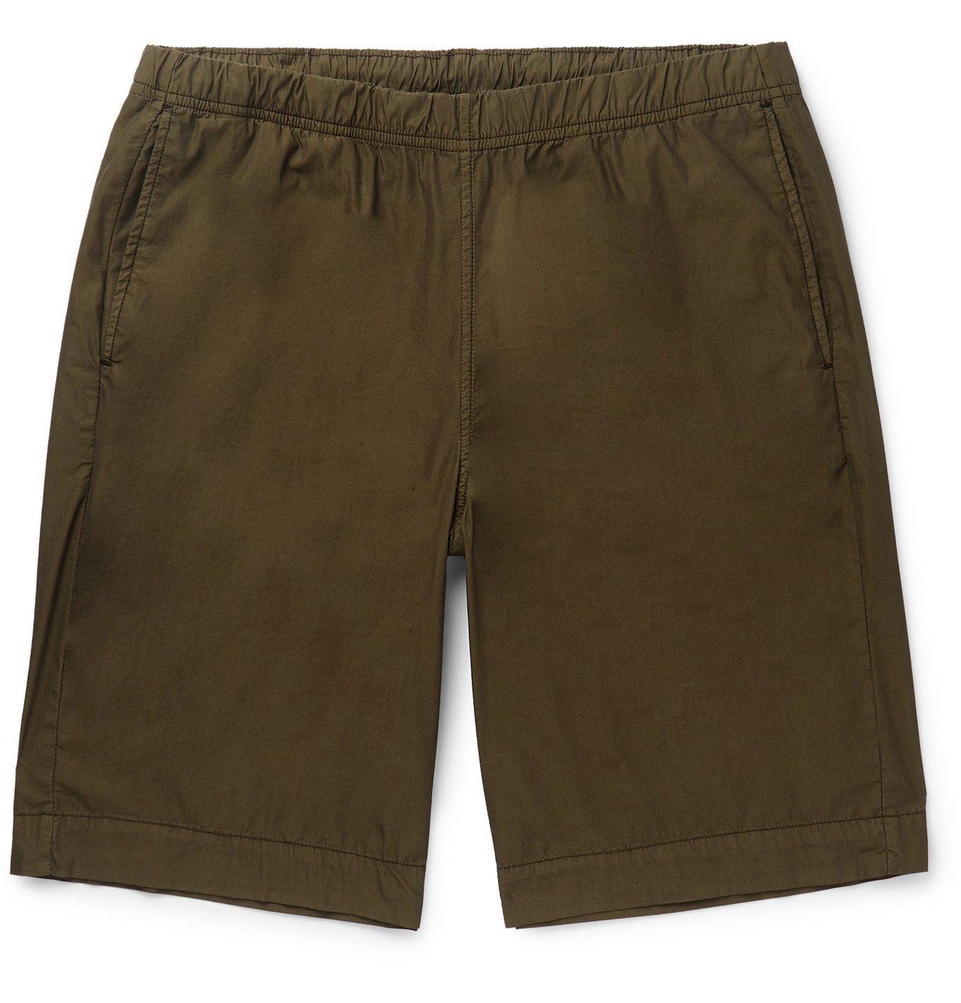 Photo: PS Paul Smith - Cotton-Blend Drawstring Shorts - Green