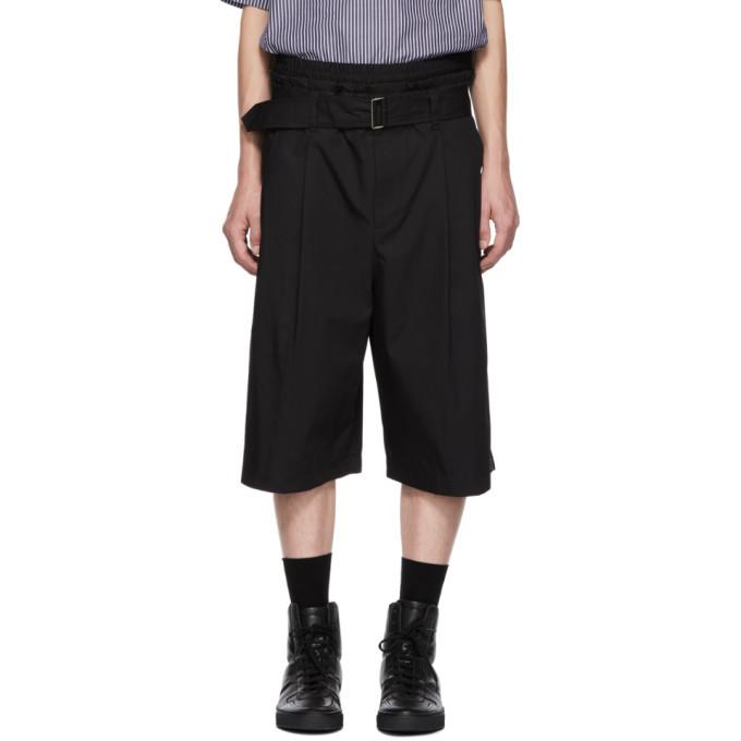 Photo: 3.1 Phillip Lim Black Wide Shorts