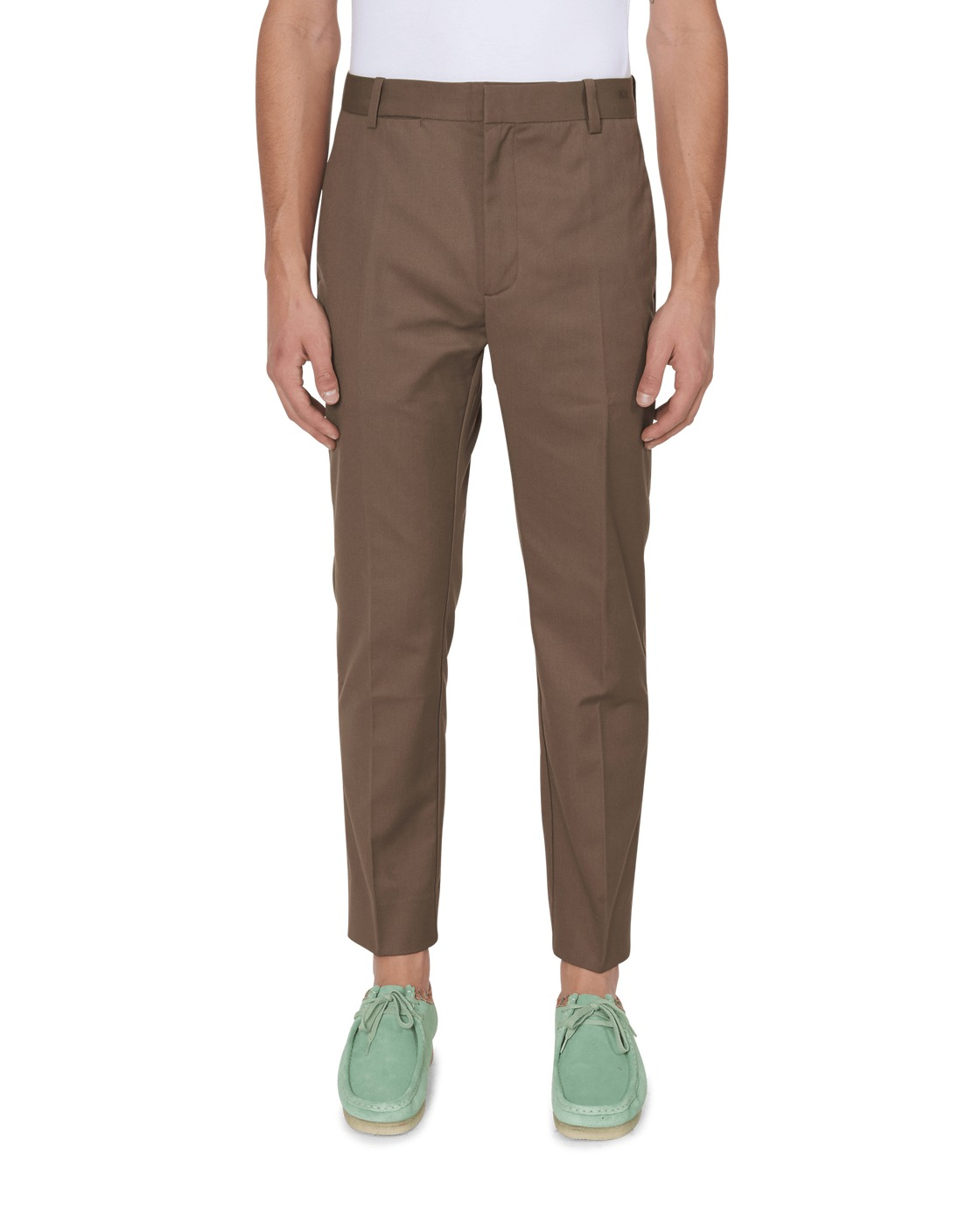 Photo: Wood Wood Tristan Trousers Brown