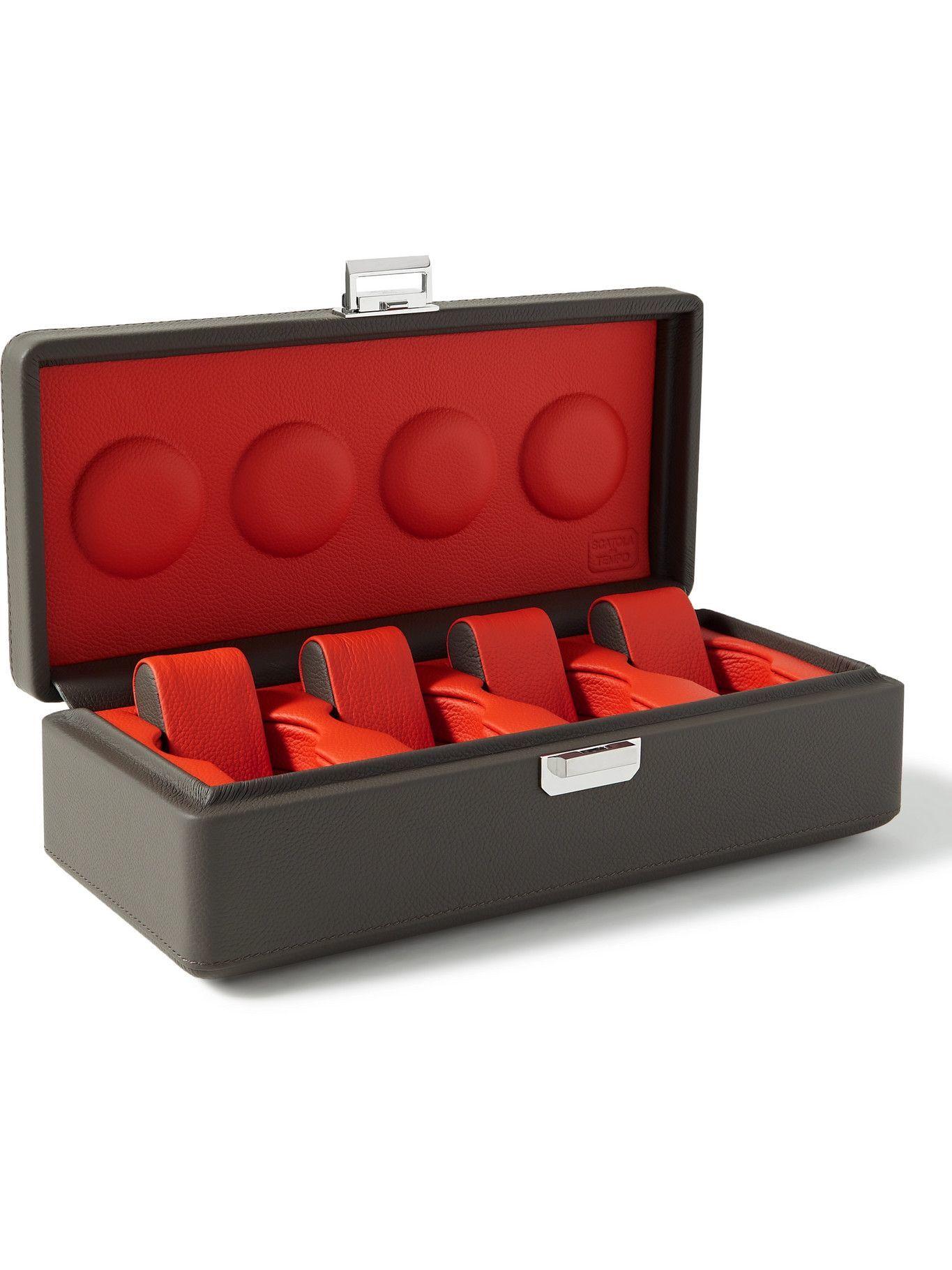 Scatola del Tempo - Full-Grain Leather Watch Box