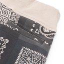 KAPITAL - Tapered Bandana-Print Fleece-Back Cotton-Jersey Sweatpants - Gray