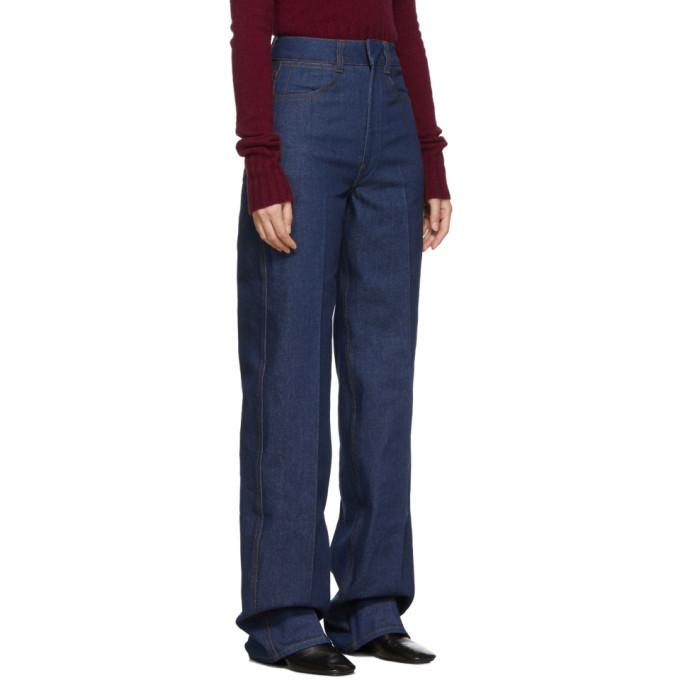 Lemaire Indigo Denim Jeans