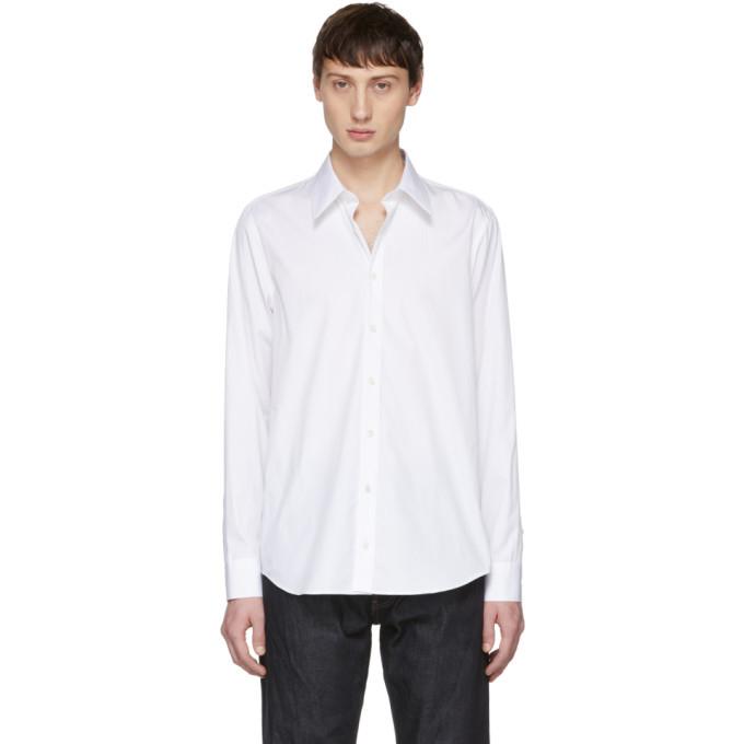 Photo: Helmut Lang White Printed Shirt