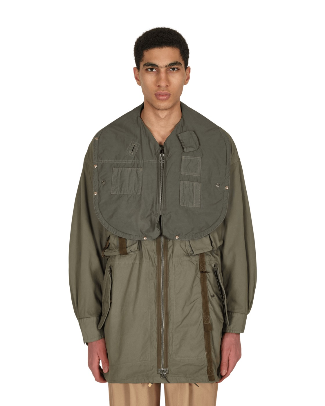 Photo: Visvim Paratrooper Coat Olive
