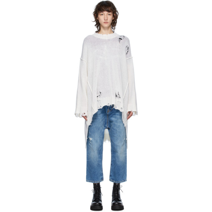 Photo: R13 Off-White Cashmere Patti Sweater