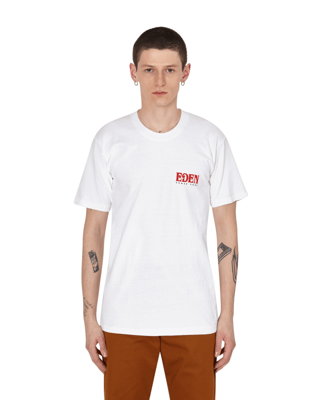 Eden Power Corp Eden Recycled T Shirt White