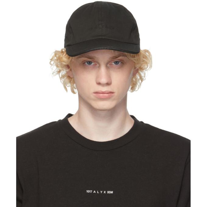 Photo: 1017 ALYX 9SM Black Twill Logo Cap