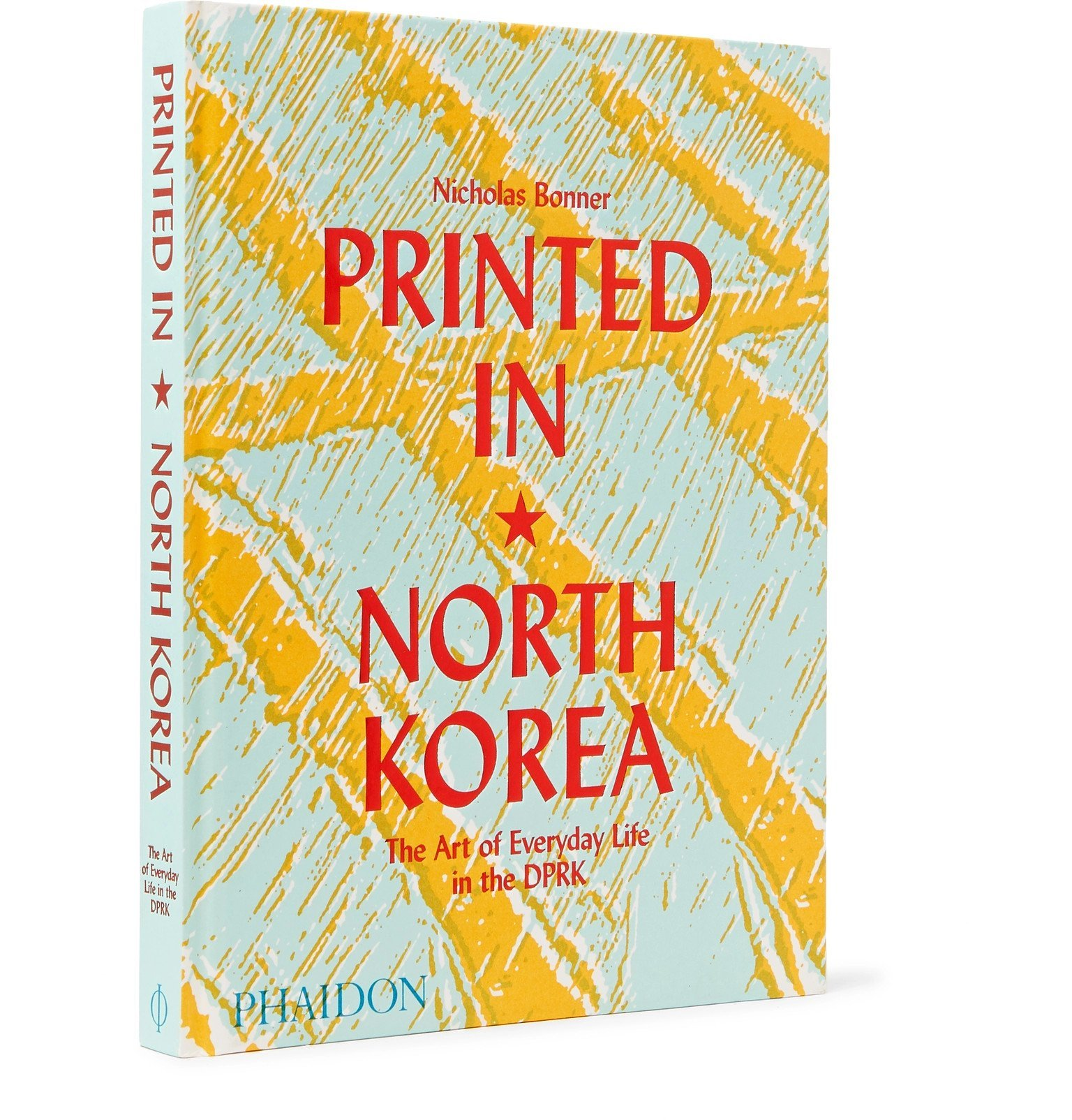 Photo: Phaidon - Printed in North Korea: The Art of Everyday Life in the DPRK Hardcover Book - Multi