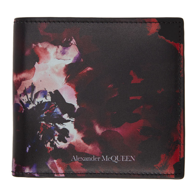 Photo: Alexander McQueen Multicolor Bifold Wallet
