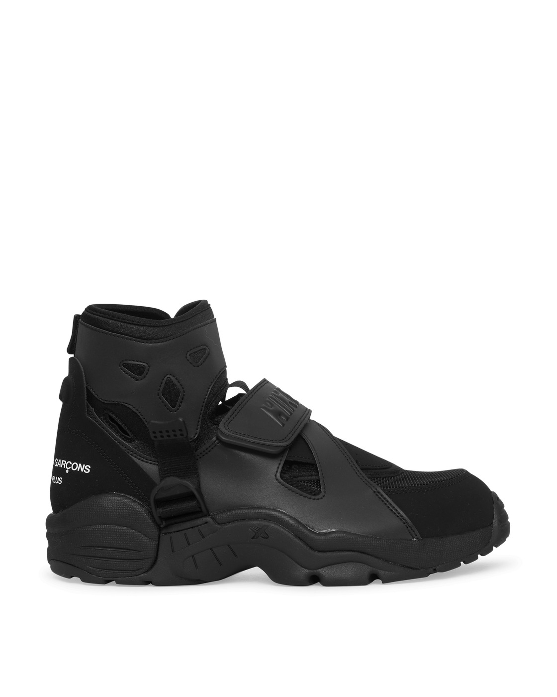Photo: Comme Des Garcons Homme Plus Nike Air Carnivore Sneakers Black