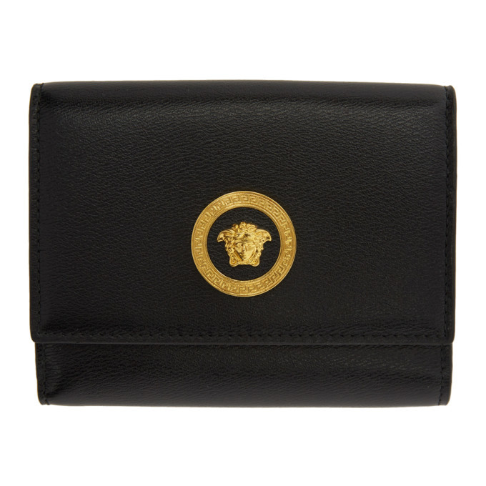 Photo: Versace Black Icon Coin Pouch Wallet