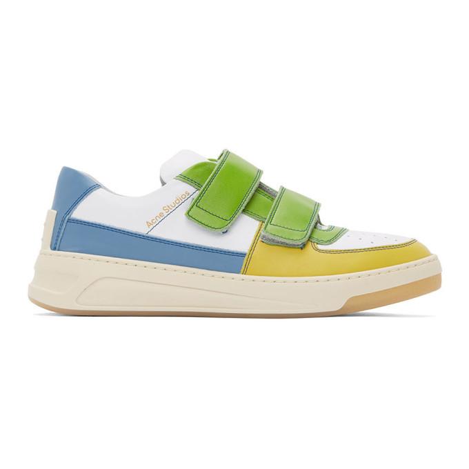 Photo: Acne Studios Multicolor Perey Strap Sneakers