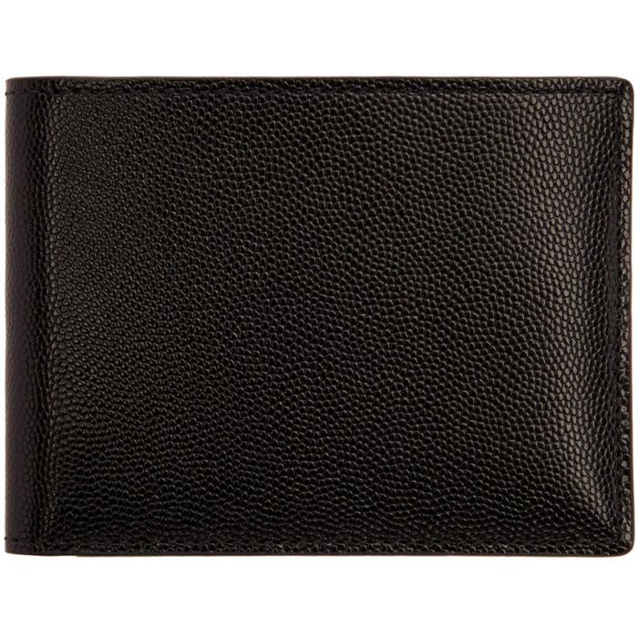Common Projects Black Grain Standard Wallet