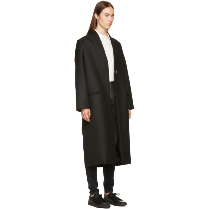 Won Hundred Black Estelle Coat