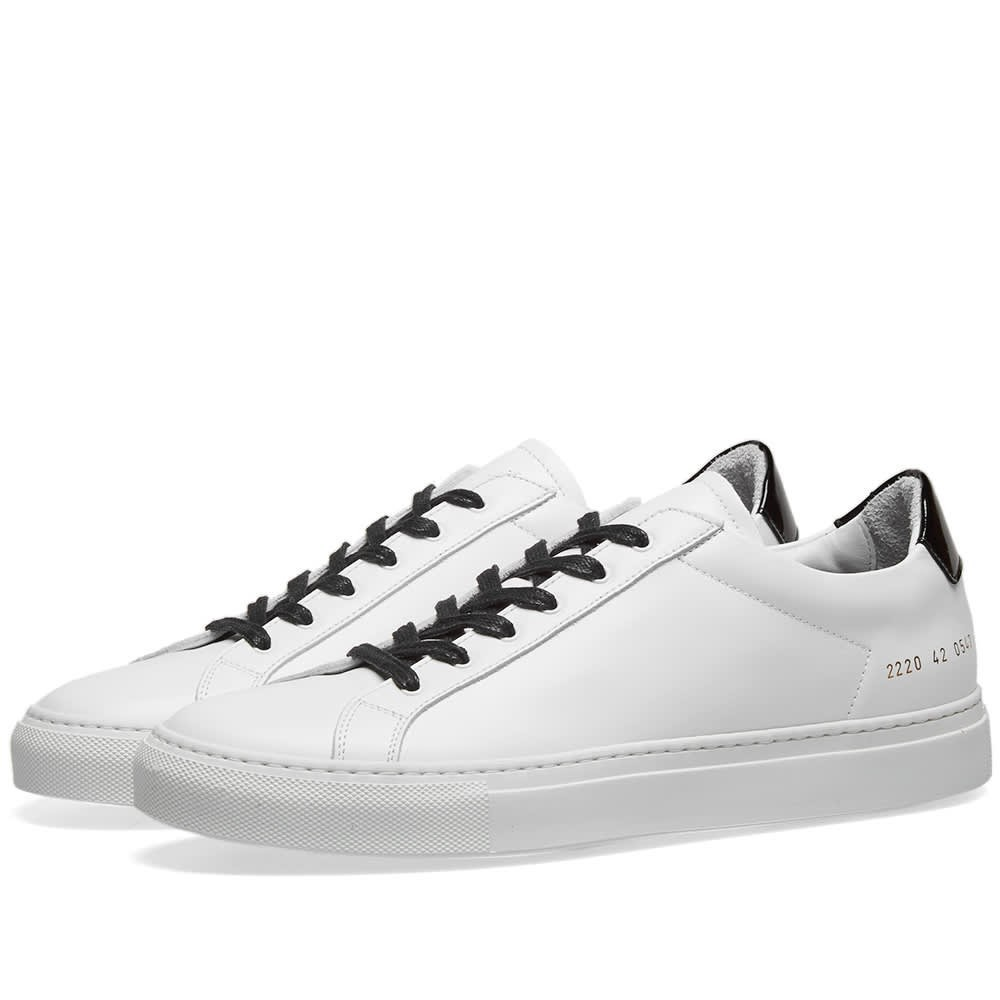 Common Projects Retro Low Glossy