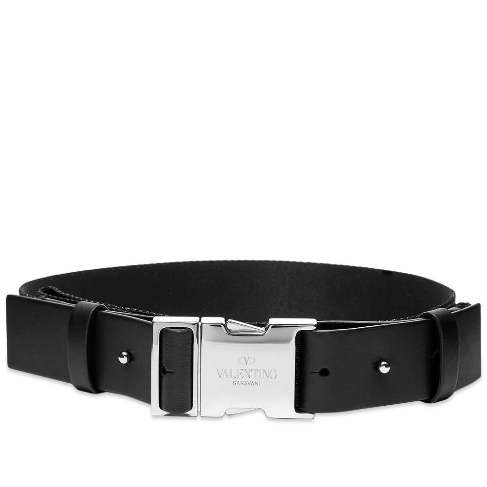 Valentino VLTN Webbing Logo Belt