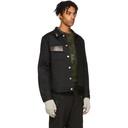 Alyx Black Thorn Denim Jacket