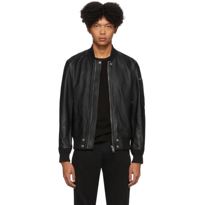 Photo: Diesel Black Leather L-Jospeh Jacket