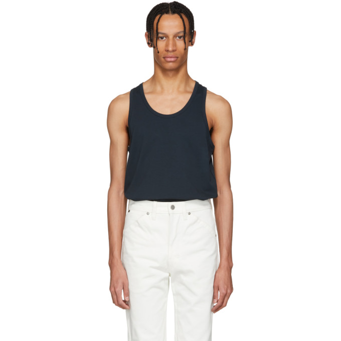 Photo: Lemaire SSENSE Exclusive Blue Tank Top