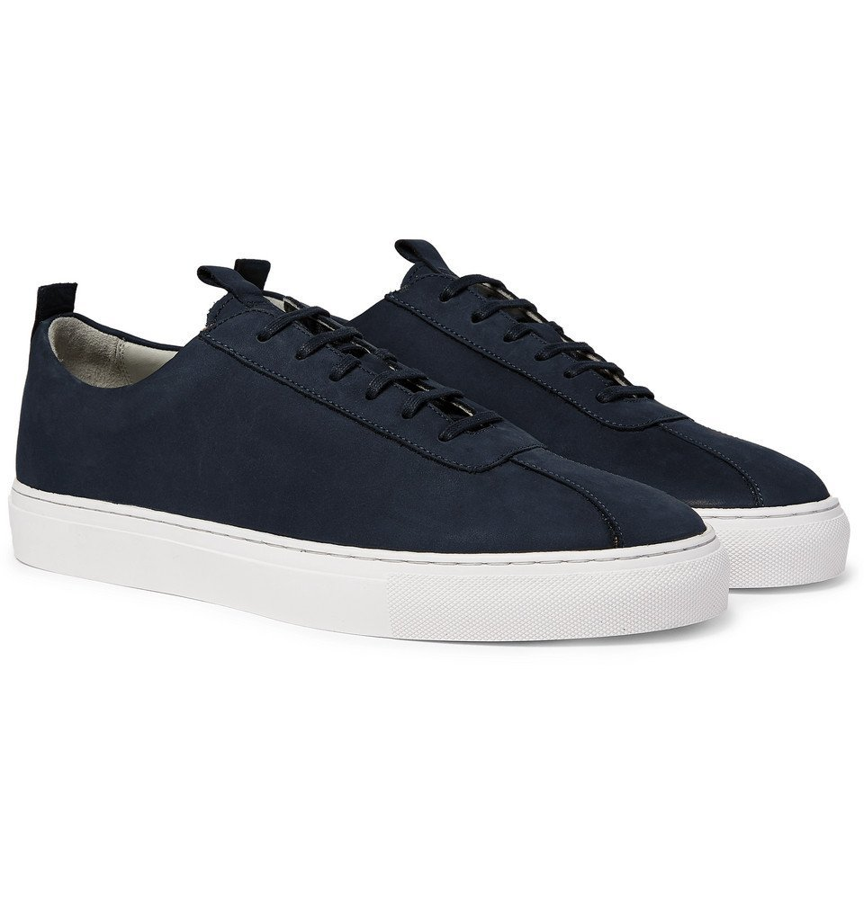 Photo: Grenson - Nubuck Sneakers - Navy