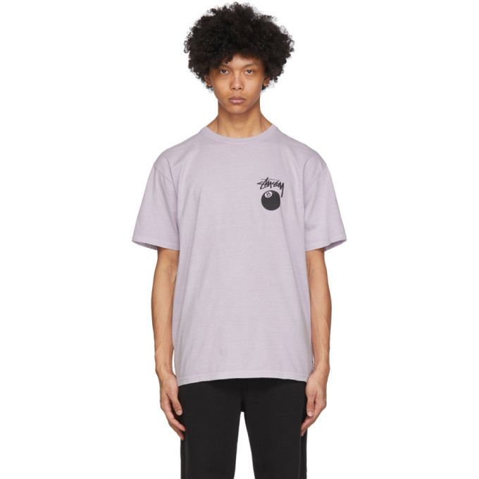 Photo: Stussy Purple 8 Ball T-Shirt