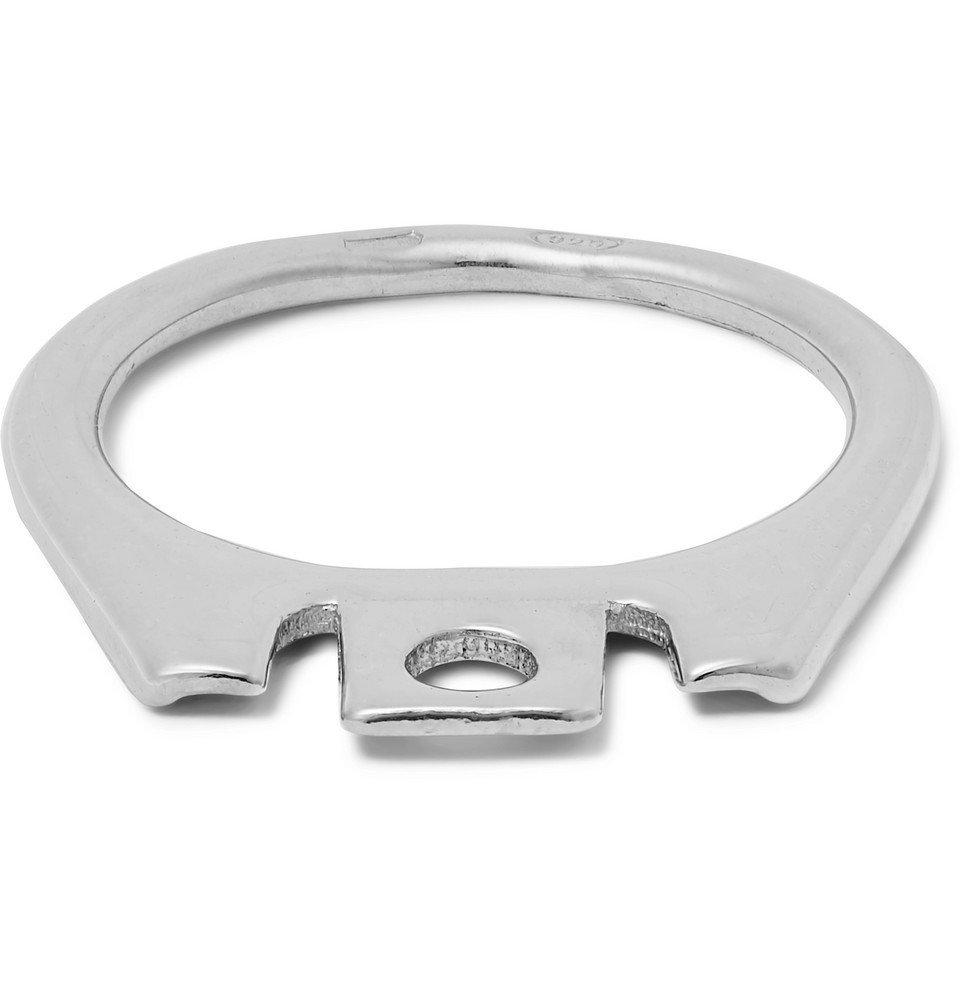 Raf Simons - Silver-Tone Ring - Men - Silver