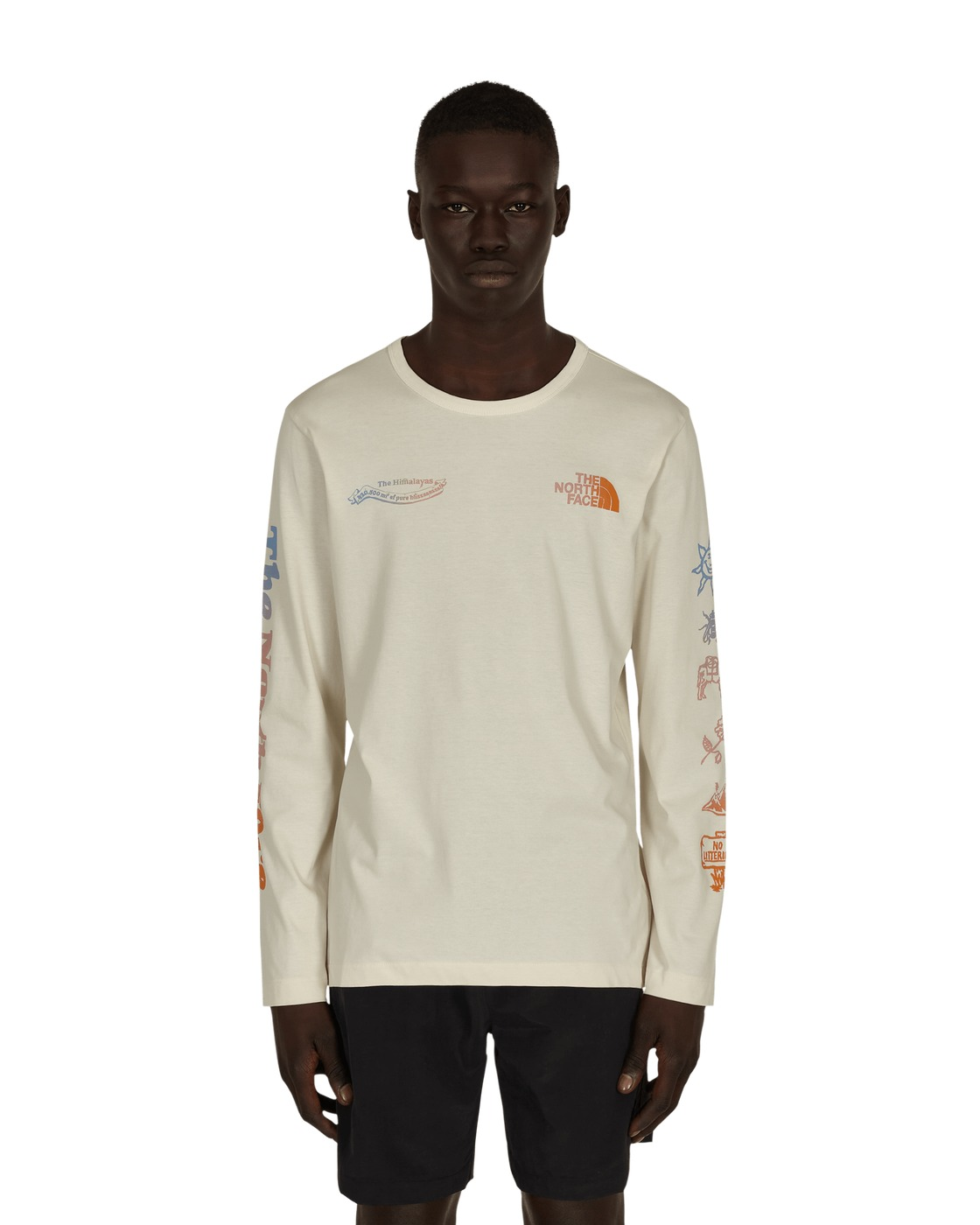 Photo: The North Face Himalayan Bottle Source Longsleeve T Shirt Vintage White