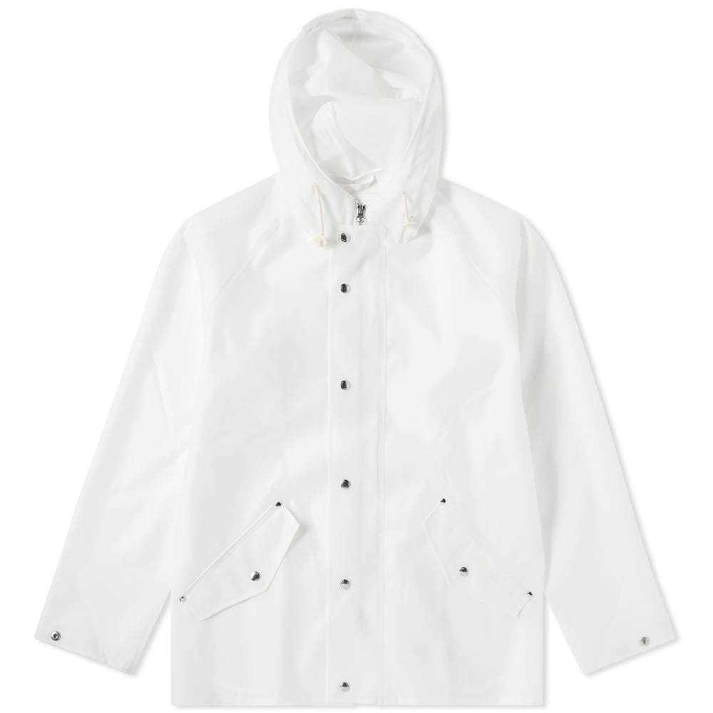 Photo: Norse Projects x Elka Anker Rain Jacket White