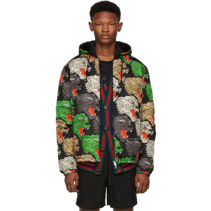 Photo: Gucci Multicolor Panther Down Jacket