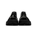 1017 ALYX 9SM Black Removable Vibram Sole Lace-Up Derbys
