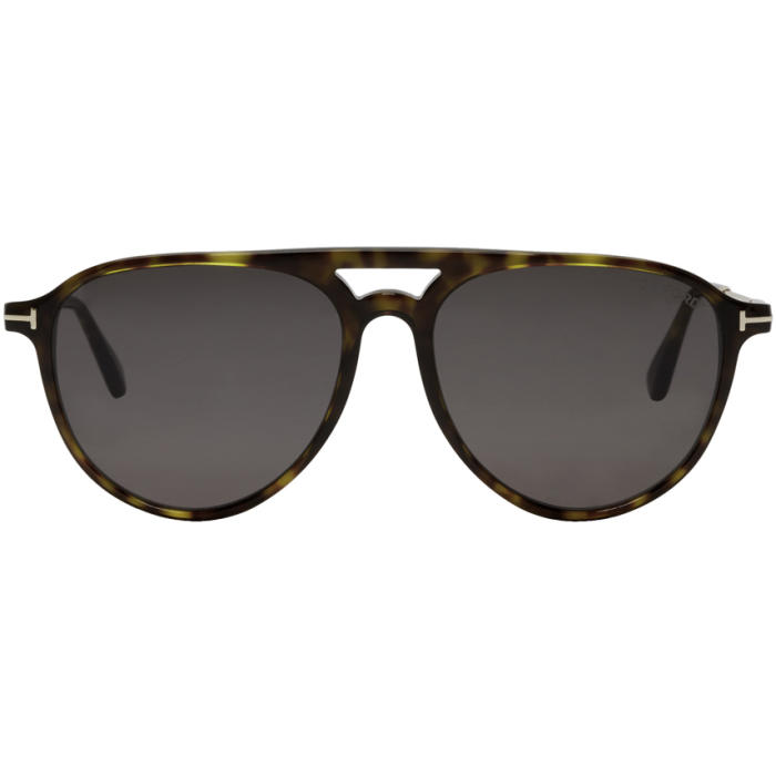 Photo: Tom Ford Tortoiseshell Carlo 02 Sunglasses
