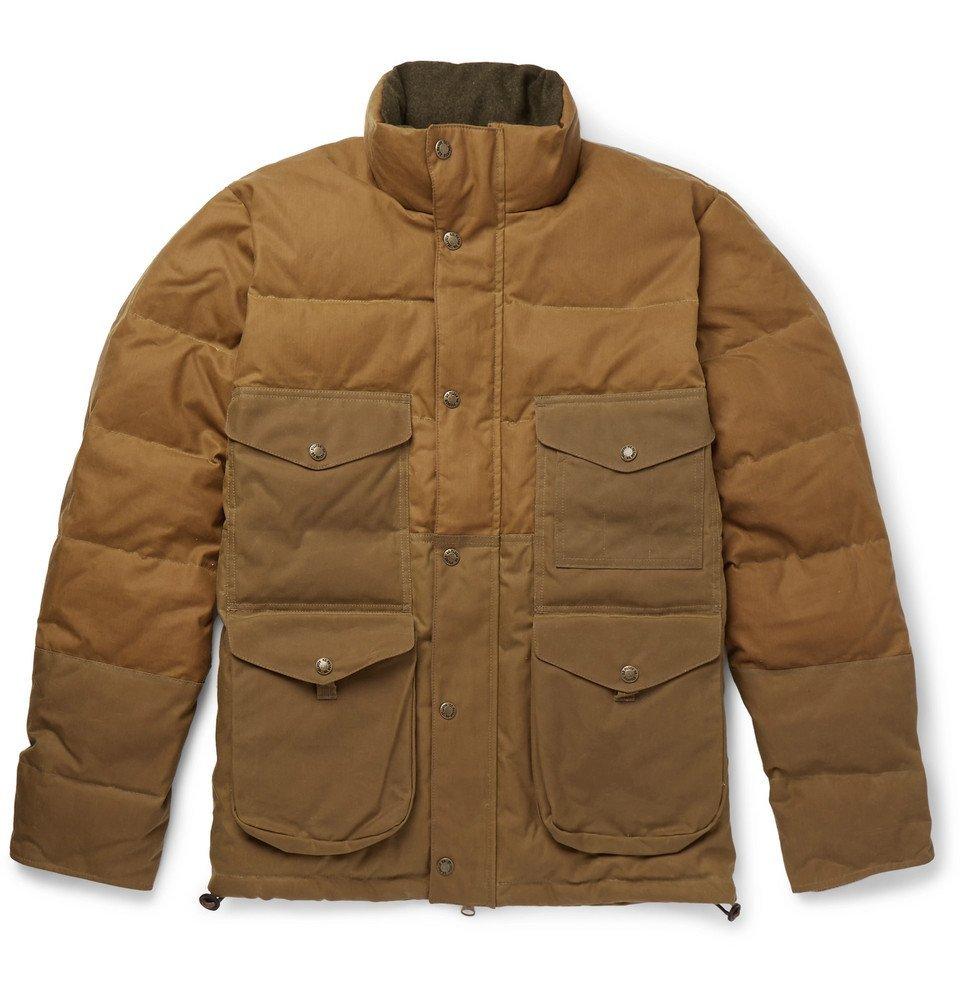 Photo: Filson - Cruiser Quilted Cotton-Canvas Down Jacket - Men - Brown