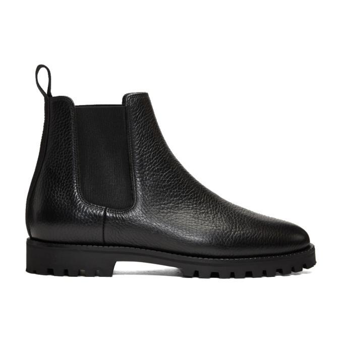 Photo: ETQ Amsterdam Black CB 01 Chelsea Boots