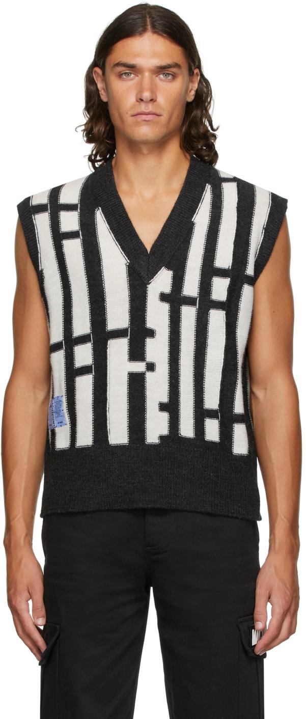 Photo: MCQ Linear Knit Vest