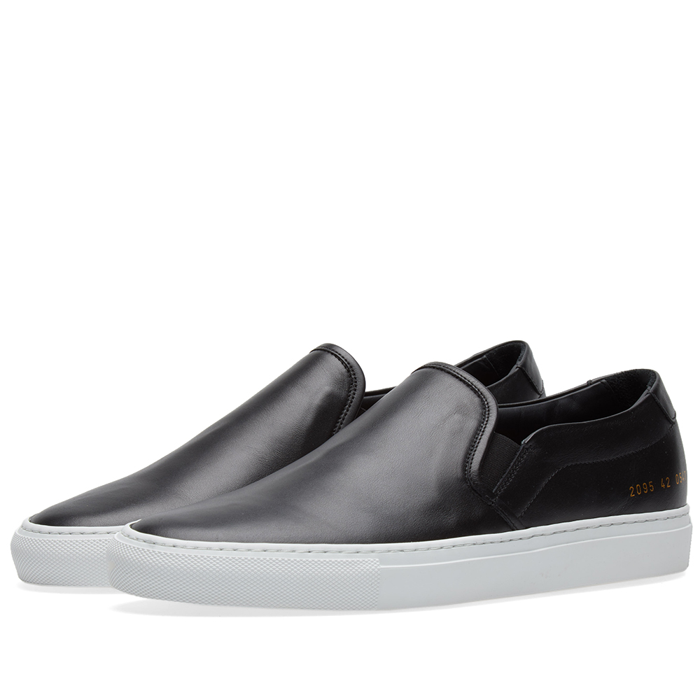 Photo: Common Projects Slip On Leather