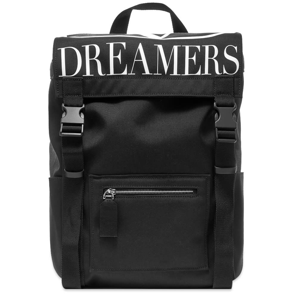 Photo: Valentino V Logo Dreamers Nylon Backpack