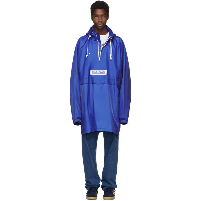 Photo: Napa x Martine Rose Blue Rainforest AXL Jacket
