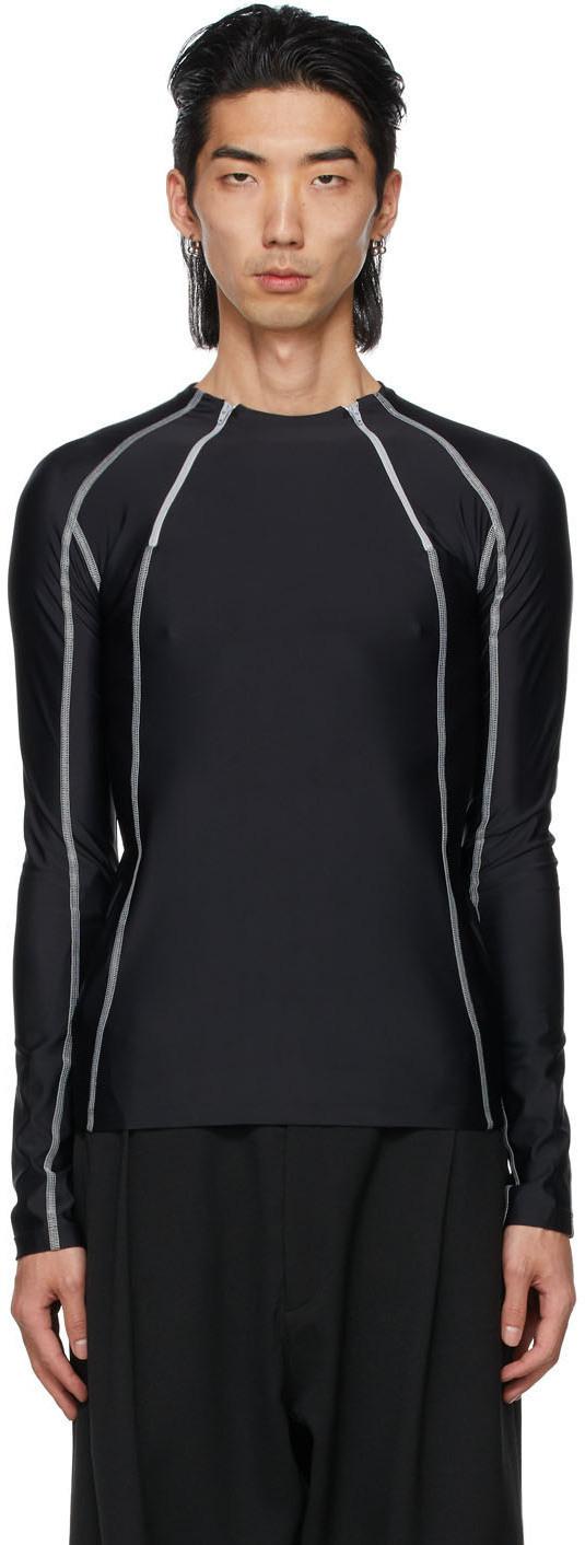Photo: GmbH Black Jersey Ande Long Sleeve T-Shirt
