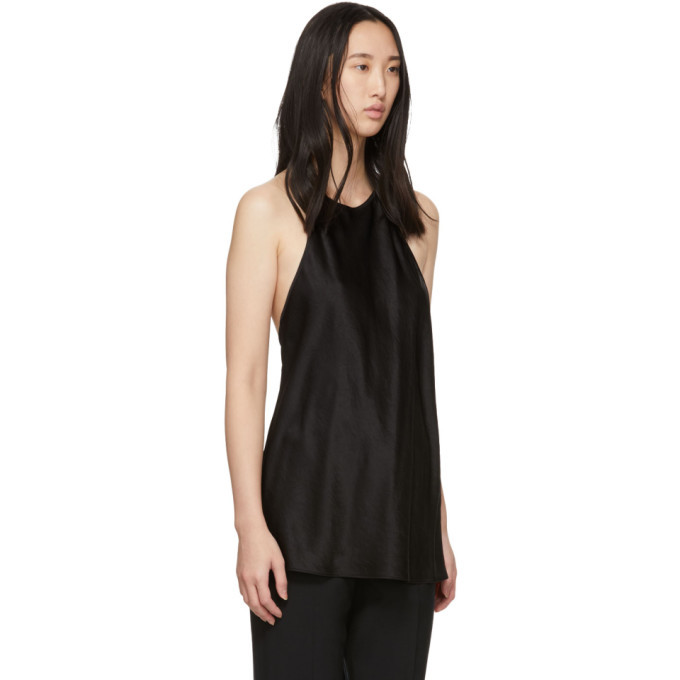 alexanderwang.t Black Wash and Go Halter Top