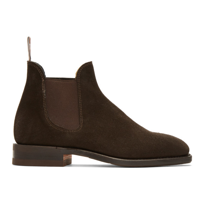 Photo: R.M. Williams Brown Suede Sydney Chelsea Boots