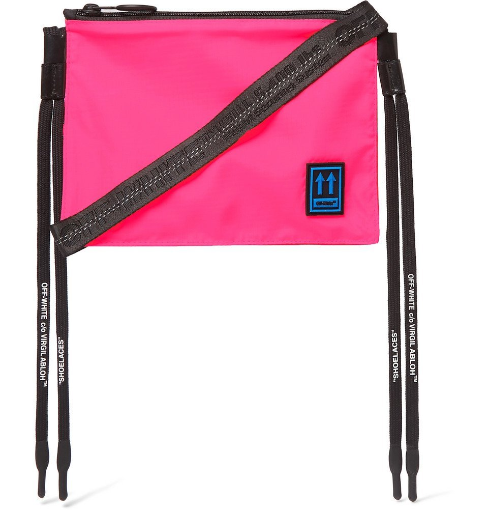 Photo: Off-White - Shell Messenger Bag - Pink