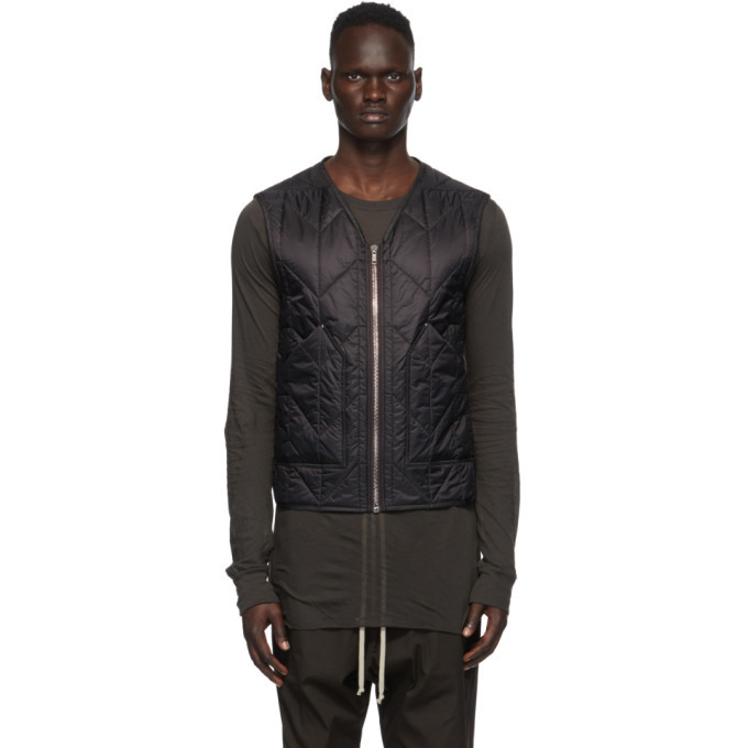 Photo: Rick Owens Black Cargo Vest
