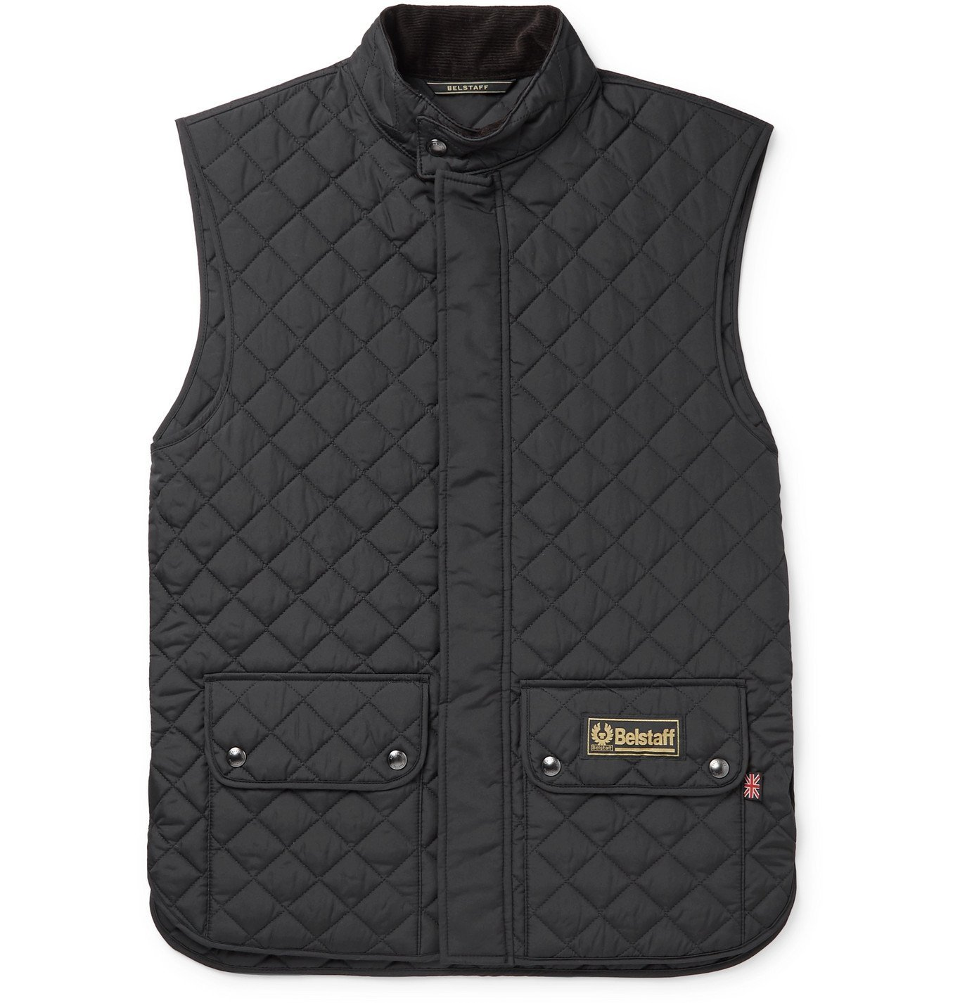 Photo: Belstaff - Quilted Shell Gilet - Black