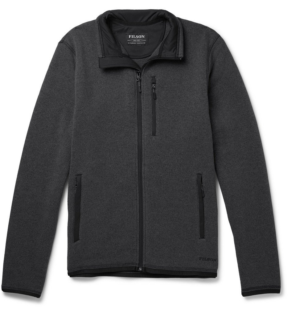 Photo: Filson - Ridgeway Polartec Fleece Jacket - Gray