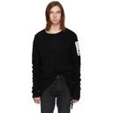 Ksubi Black Punk Patch Sweater
