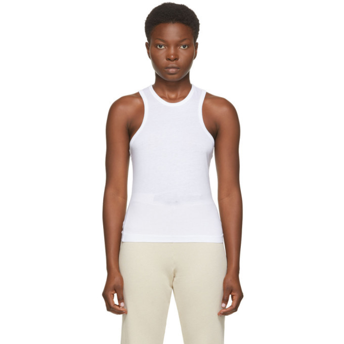 Photo: John Elliott White Supima Tank Top